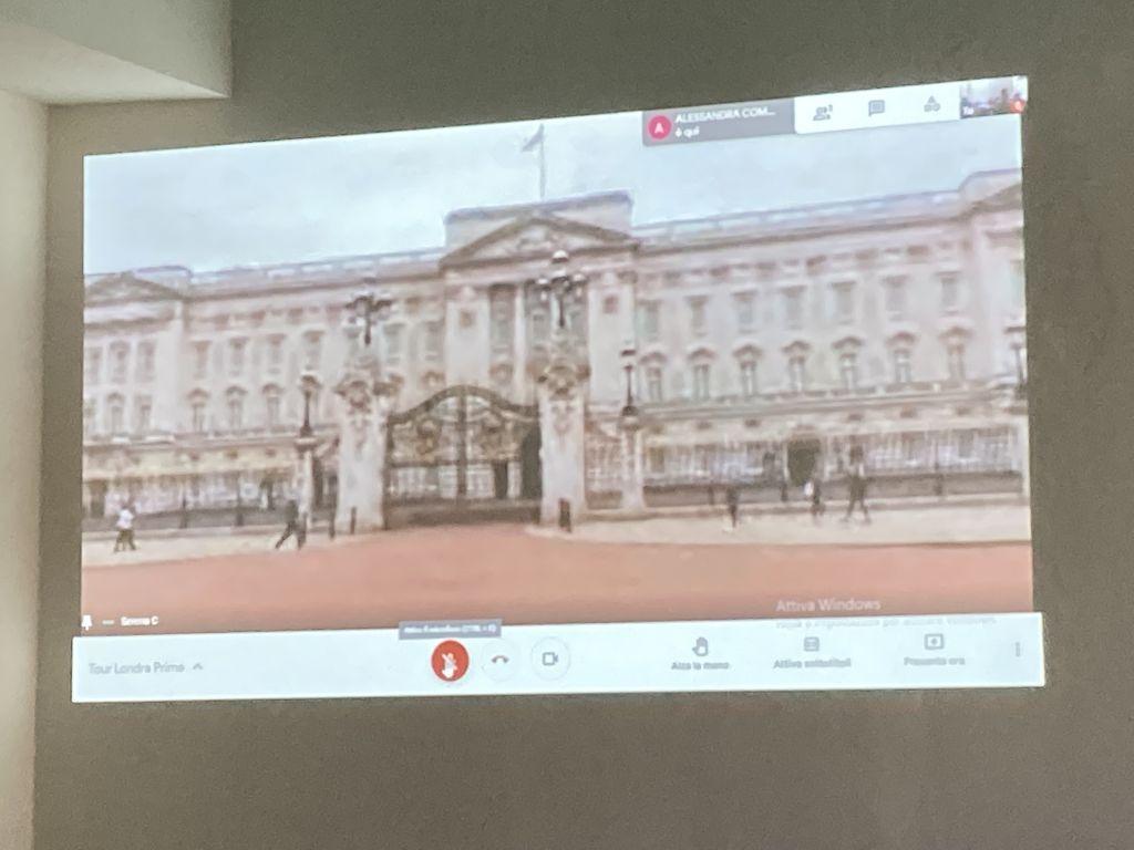 Tour virtuale live a Londra!